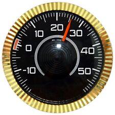 Original 1974 Bimetall Thermometer mit Magnet & Klebepad RICHTER / HR Art 2803