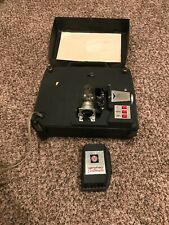 movie projector 8mm Mansfield Customatic. Old movie film projector. Motor Works