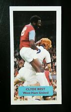 WEST HAM UNITED - CLYDE BEST - Score UK football trade card - PROOF
