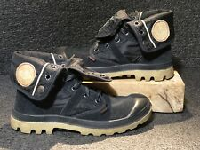 PALLADIUM Pallabrouse Baggy Quilted Fold Over Hiking Boots 6.5