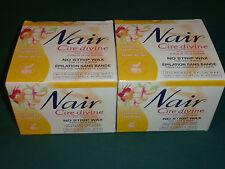 2x Nair Cire Divine Tahitian Gardenia Legs & Body No Strip Wax kit 400g