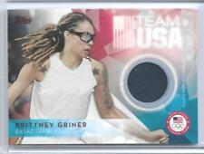 SWEET 2016 TOPPS OLYMPIC BRITTNEY GRINER RELIC CARD ~ WNBA ~ BAYLOR BEARS LEGEND