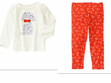 NEW  GYMBOREE  Dogs Legging with  Long Sleeve Top Outfit  SIZE 3T