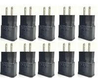 10x 2A USB Wall Charger Plug Home Power Adapter For Samsung Android LG HTC Black