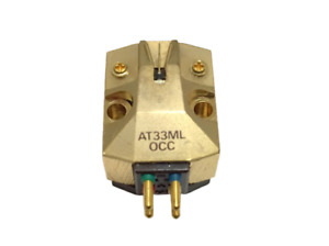 Audio-Technica AT33ML OCC Moving Coil Dual MC type cartridge Japan Good