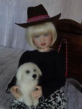 AllforDoll OOAK DIORAMA 1:4 scale Furniture CABINET Gene Tonner Helen Kish Dolls
