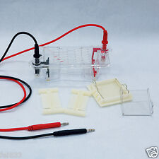 Mini Lab Modular Horizontal Gel Electrophoresis Cell System 60 x 60 mm