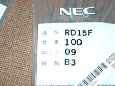 RD15F-B3 ZENER DIODES DO-41 GLASS SEALED NEC RENESAS 10 PCS