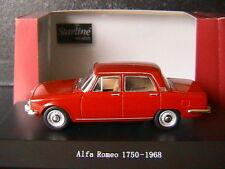 ALFA ROMEO 1750 1968 RED ALFA STARLINE 510950 1/43 ITALIA ROSSO ROUGE ROT
