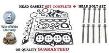 FOR MITSUBISHI EVO 1 2 3 2.0i 4G63 10/1992-12/1995 HEAD GASKET SET & BOLTS KIT