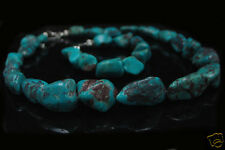 Sterling Silver Genuine Blue Turquoise Nugget Set!
