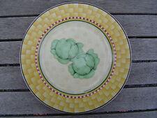 Debbie Mumm Blue Ribbon Plate salad dessert  Cabbage Heads Lettuce