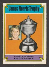 1974-75 OPC O-PEE-CHEE # 248 BOBBY ORR NORRIS TROPHY    INV 2611