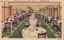 Postcard Park Cafe and Sea Grill Burlington VT