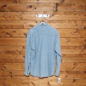 Camicia Levi's Orange Tab Jeans Tg: XL Usato (Cod.EBAY339) Denim Uomo