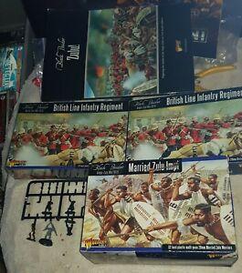 28mm Black Powder British army and ARMY ZULU WAR 1879 Warlord Games starter kit