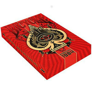 New Karnival 1984 Deck by Big Blind Media Deck of Cards, Red Playing Cards