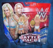 WWE RIC CHARLOTTE FLAIR NATURE BOY DIVAS BELT BATTLE PACK RAW DIVA WRESTLEMANIA