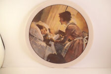Vintage Edwin Knowles Collector Plate Norman Rockwell A Mother's Love