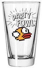 Flappy Bird Party Fowl Pint Glass