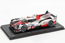 1:43 Spark 24h Le mans 2017 Toyota TS050 Ganzoo #8 Buemi Davidson Nakajima