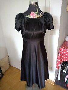 Elegantes Schwarzes Kleid Größe 36 Von Vera Mont