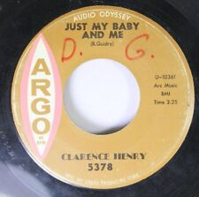 50'S/60'S 45 Clarence Henry - Just My Baby And Me / But I Do On Argo