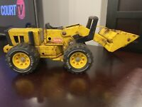 Vintage 1970's Tonka Pressed Steel Front End Loader l XR-101 Tires