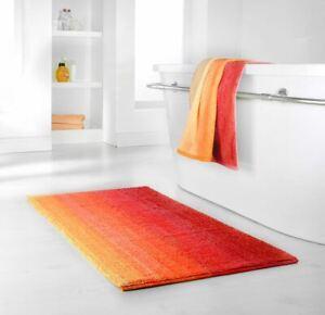 Dyckhoff High Quality 100% Organic Cotton Bath Shower Mat Red Anti Non Slip