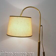 elegente Denz Messing Stehlampe Leselampe Arbeitslampe Wohnzimmerlampe 60er J.