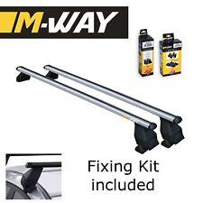 M-WAY Aero Fit Roof Rack Space Bars Rails for HONDA Civic VII 5 Door 01>05