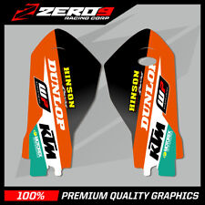 KTM SX SXF 2015-20 EXC EXC-F 2016-20 LOWER FORK DECAL MX GRAPHICS STICKER - TI