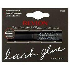 Revlon PRECISION LASH ADHESIVE DARK False Fake Eyelash Glue Brush On Lashes