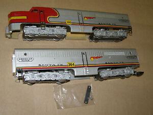 Gilbert American Flyer S Gauge, 360-364 Santa Fe Diesel Locomotive
