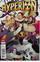 HYPERION #4 MARVEL COMICS 2016 BAGGED AND BOARDED