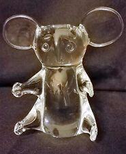 Sweden Art Crystal Koala Bear Figure ~ FM RONNEBY