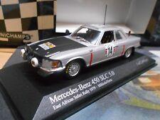 MERCEDES Benz 450 SLC 5.0 Rallye Africa Safari 1979 #14 Mikkola Minichamps 1:43