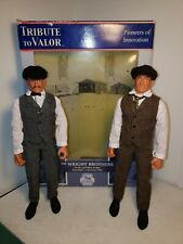 """Orville, Wilbur, The Wright Brothers Tribute to Valor 12"""" 1/6 Action Figures."""