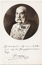 """Postkarte - """" Kaiser Franz Josef I."""""""