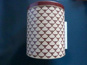 *3x BOOTS Original New 1980's Large Storage biscuit tin-Gift Jar-Pyramid Design*