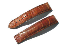 Authentic Omega 20mm x 18mm Honey Brown Alligator Watch Strap Band 98000063 I452