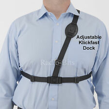 Klickfast Dock Adjustable Shoulder Harness for  Radio, Radio Case, Body Camera