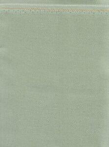 Zweigart Aida 18ct 18x21 Celadon Fabric
