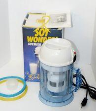 Miracle Soy Wonder Soymilk Machine Model MJ717