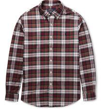 Polo Ralph Lauren Button-Down Collar Checked Cotton Oxford Shirt XXL