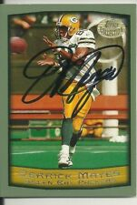 Derrick Mayes Green Bay Packers/ Notre Dame Personally Autographed Card
