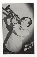 Henry Busse 1940's-50's Mutoscope Music Corp of America Arcade Card Postcard