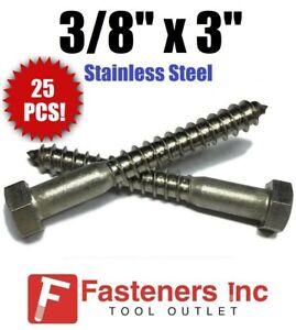 Hot Dip Galvanized 1//2x2 Hex Lag Screws 225 The best fasteners