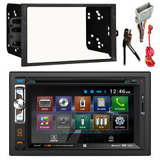 DV527BT Double Din USB CD Car Radio Player Install Mount Kit Wire Harness Antenn