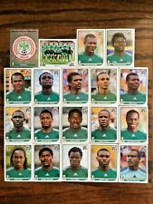 NIGERIA TEAM, 19 PANINI STICKERS, WORLD CUP SOUTH AFRICA 2010 #AFRICA06